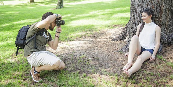 Como posar en una sesión de fotos