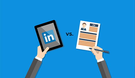 cv vs linkedin bookdefotos