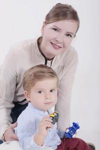 Retratos profesionales en familia