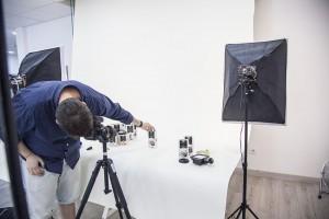Fotogafia profesional en estudio