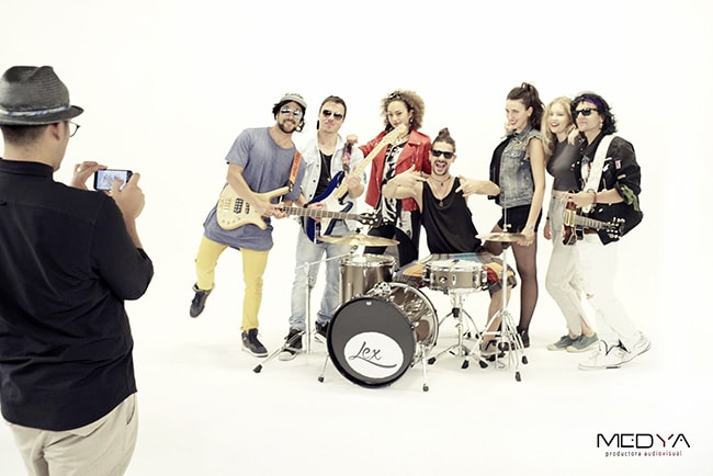 Fotógrafo músicos Madrid