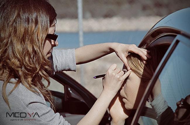 Maquillaje y peluquería profesional para actores