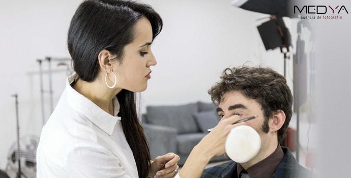 Maquillaje profesional para sesiones de fotos