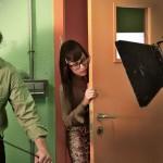 Grabación escenas Actores