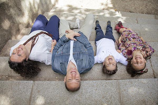 Retratos en Madrid para familias