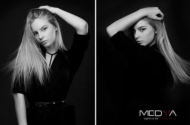 Book de fotos para modelos