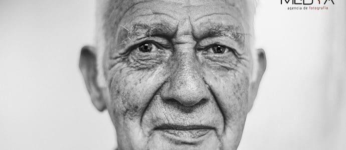 Sesión de fotos para gente mayor