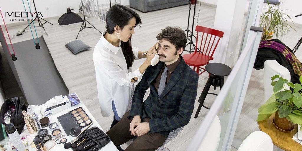 sesiones de fotos maquillaje y peluquería