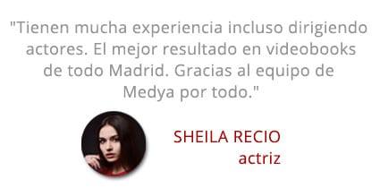 Testimonail Sheila recio