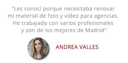 Testimonial Andrea