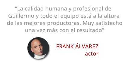 Testimonial frank